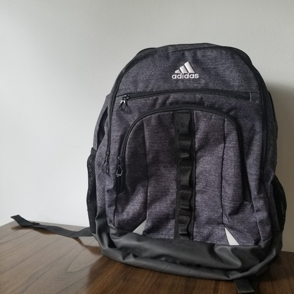 adidas Other - Adidas Prime 4 dark gray and black backpack 0e35fc9778dd8